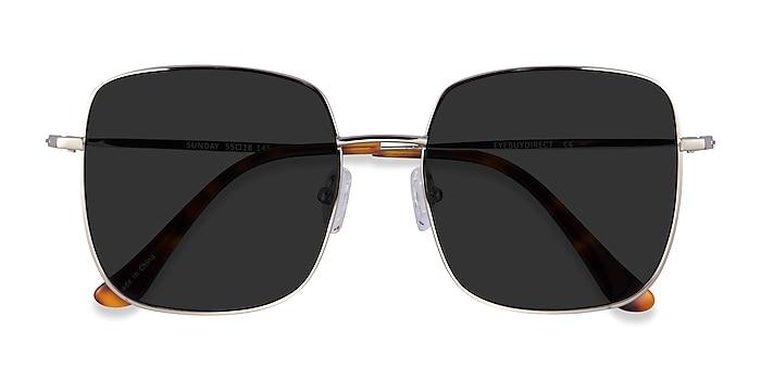 Silver Sunday -  Metal Sunglasses