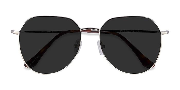 Silver Carlsbad -  Metal Sunglasses