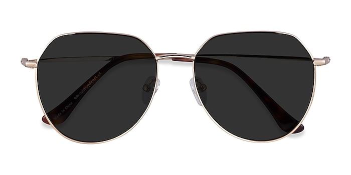 Gold Carlsbad -  Metal Sunglasses