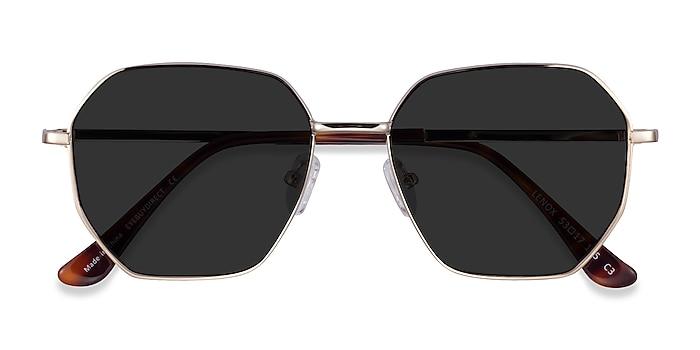 Gold Lenox -  Metal Sunglasses