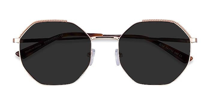 Rose Gold Elsa -  Metal Sunglasses