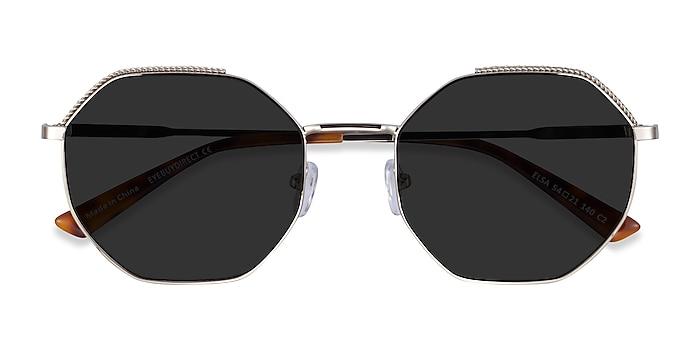 Silver Elsa -  Metal Sunglasses