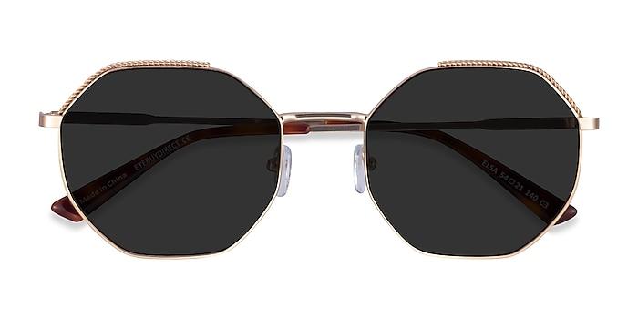 Gold Elsa -  Metal Sunglasses