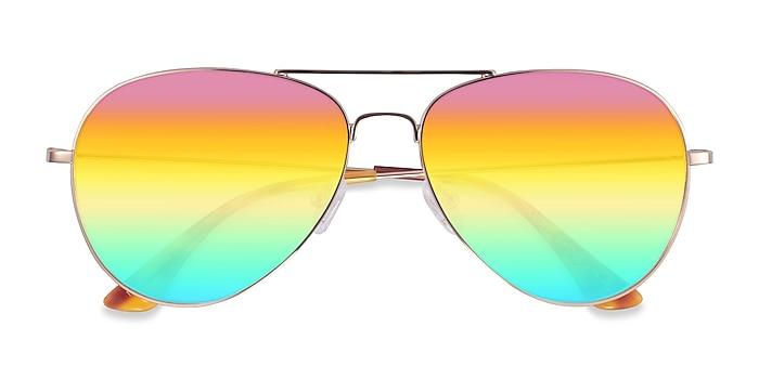 Gold Haight -  Metal Sunglasses