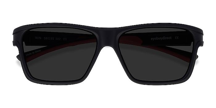 Black & Red Win -  Plastique Lunettes de soleil