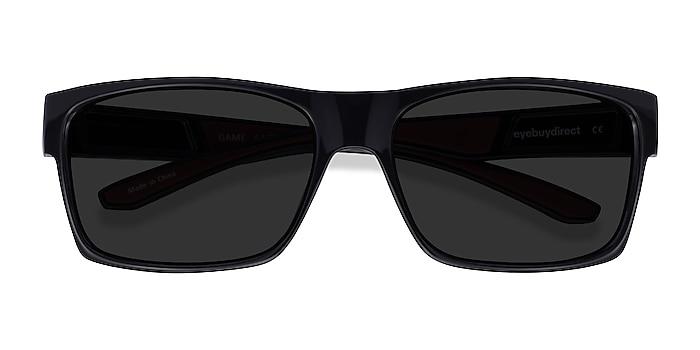 Black Game -  Plastic Sunglasses