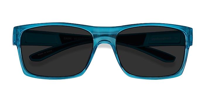 Bleu Game -  Plastique Lunettes de soleil