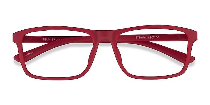 Matte Red Team -  Acetate Eyeglasses