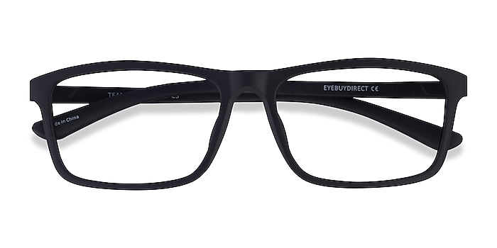 Matte Black Team -  Acetate Eyeglasses