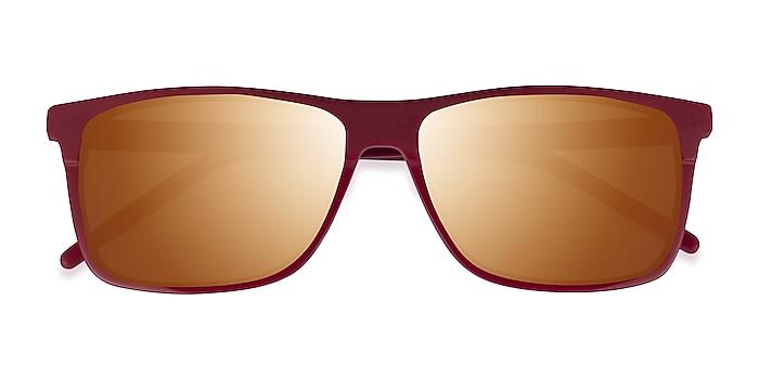 Matte Red Catch -  Acetate Sunglasses