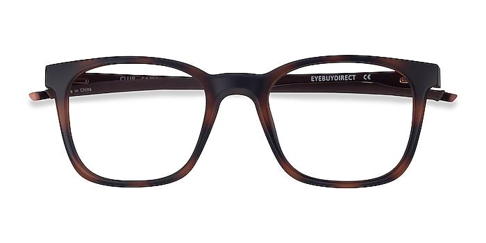 Tortoise Club -  Metal Eyeglasses