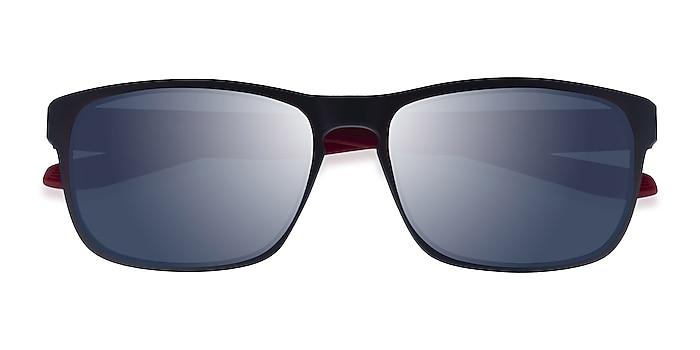 Matte Blue Red Kick -  Plastic Sunglasses