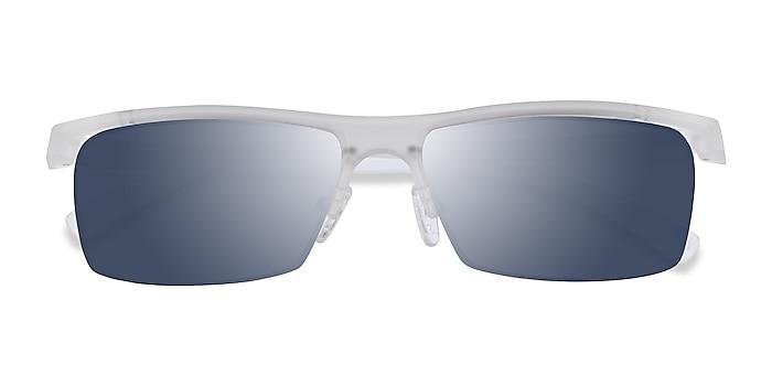 Matte Clear Turnover -  Plastique Lunettes de soleil