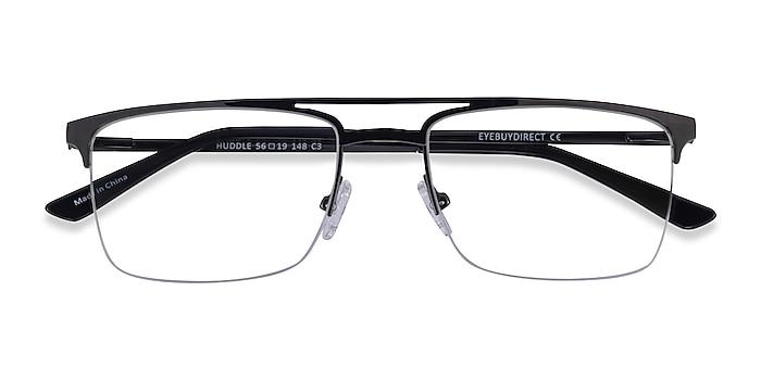 Gunmetal Huddle -  Metal Eyeglasses