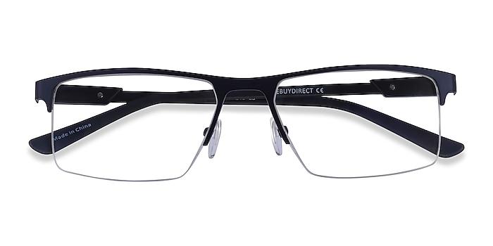 Blue  Black Interception -  Metal Eyeglasses