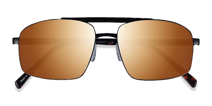 Black Tortoise Punt -  Acetate Sunglasses