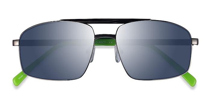Gunmatel Green Punt -  Acetate Sunglasses