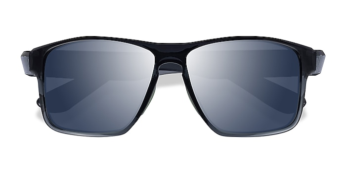 Gray Green Running -  Plastic Sunglasses