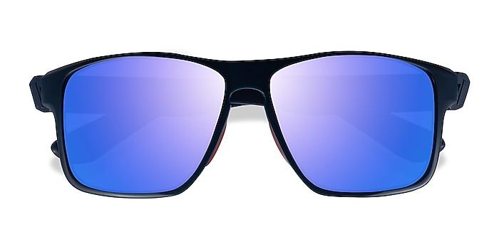 Blue Red Running -  Plastic Sunglasses