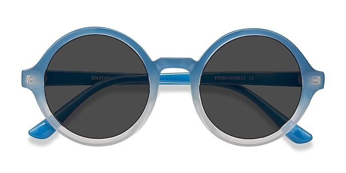 Blue Clear Solstice -  Plastique Lunettes de soleil
