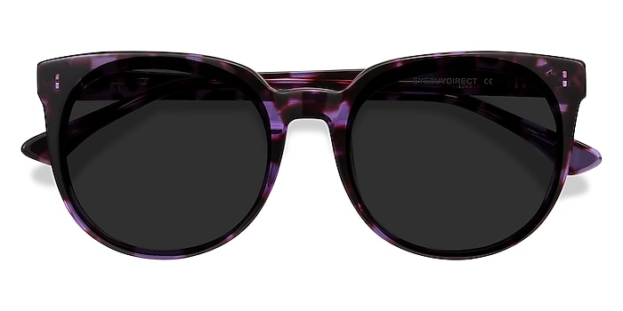 Purple Tortoise Queen -  Acetate Sunglasses