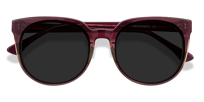 Red Clear Queen -  Acetate Sunglasses