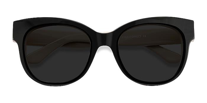 Black Tahiti -  Vintage Acetate Sunglasses