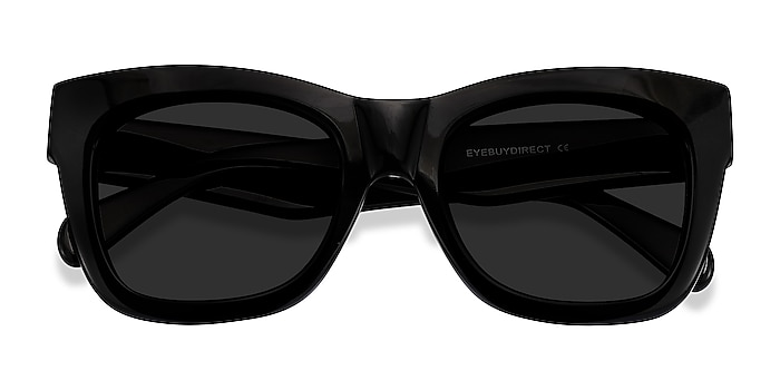 Black Calico -  Acetate Sunglasses
