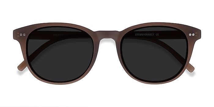 Brown Hidden -  Vintage Plastic Sunglasses