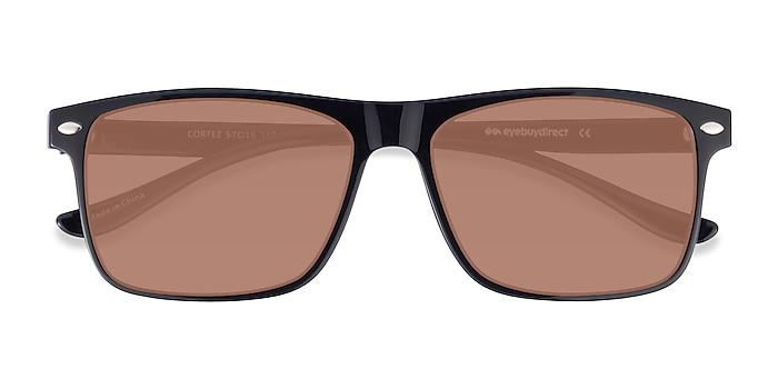 Black Cortez -  Plastic Sunglasses