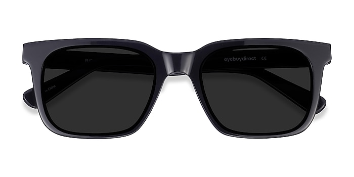 Black Riddle -  Acetate Sunglasses