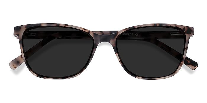 Tortoise Halle -  Vintage Acetate Sunglasses