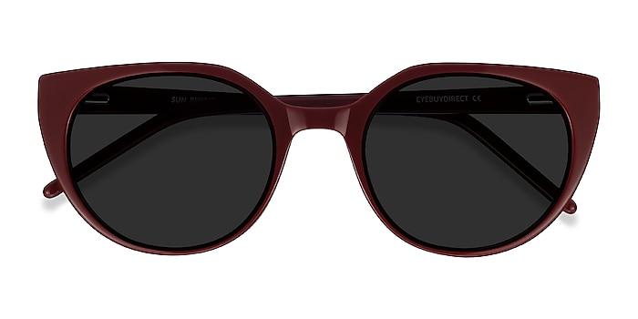 Burgundy Sun Rhyme -  Acetate Sunglasses