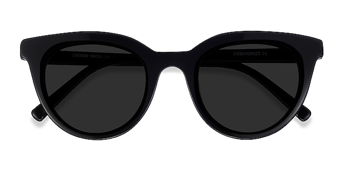 Black Cherish -  Acetate Sunglasses