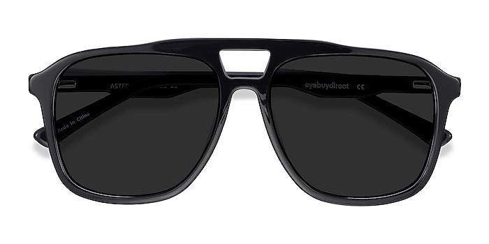 Black Aster -  Acetate Sunglasses