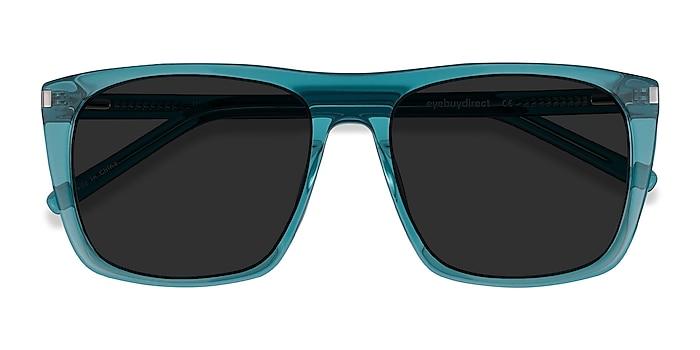 Teal Jim -  Acetate Sunglasses