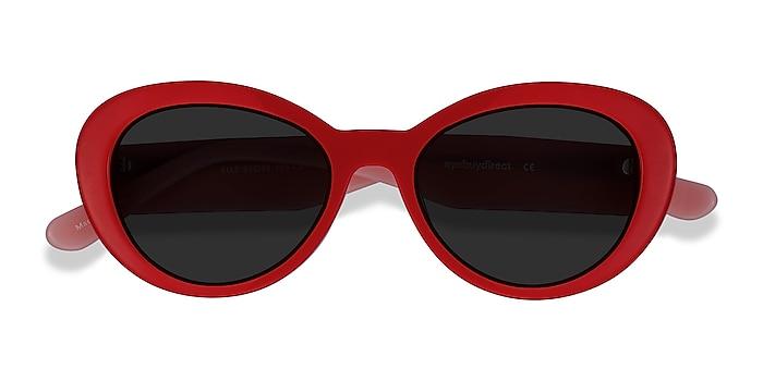 Red & Pink Elle -  Vintage Acétate Lunettes de soleil