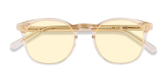Clear Melon Safari -  Acetate Sunglasses