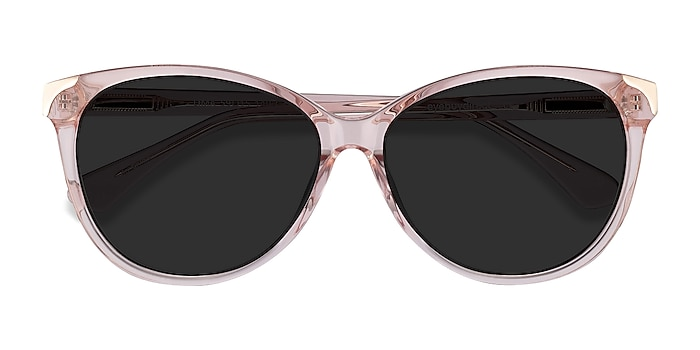Clear Pink Lima -  Acetate Sunglasses