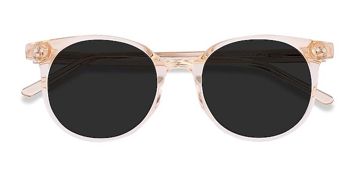 Clear Melon Hideout -  Acetate Sunglasses
