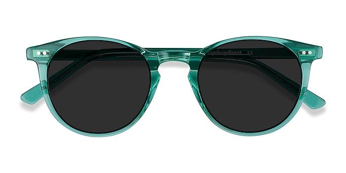 Emerald Green Sun Kyoto -  Acetate Sunglasses
