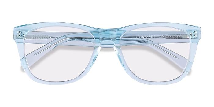 Clear Blue Malibu -  Acetate Sunglasses