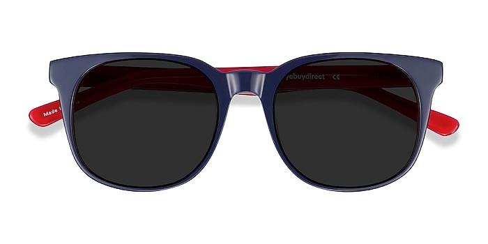 Navy & Red 1776 -  Acetate Sunglasses