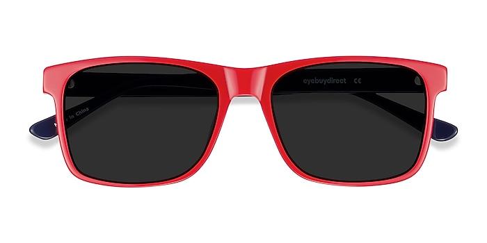 Red & Navy Proud -  Acetate Sunglasses