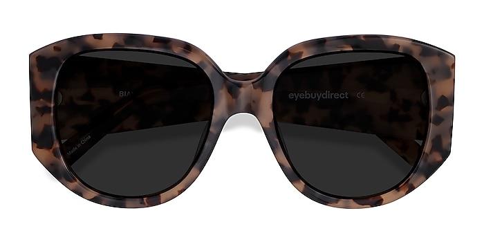 Ivory Tortoise Bianca -  Vintage Acetate Sunglasses
