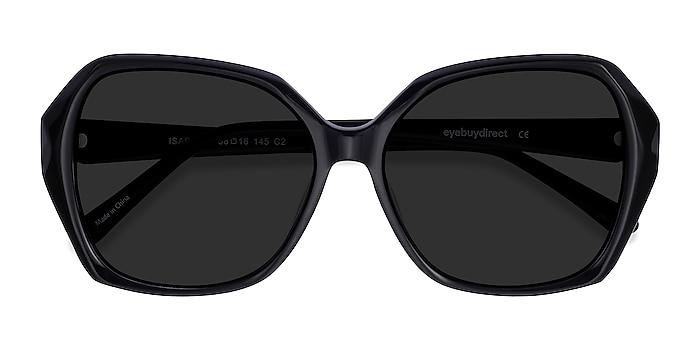 Black Isabella -  Vintage Acetate Sunglasses