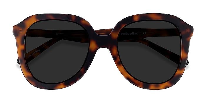 Tortoise Wendy -  Vintage Acetate Sunglasses