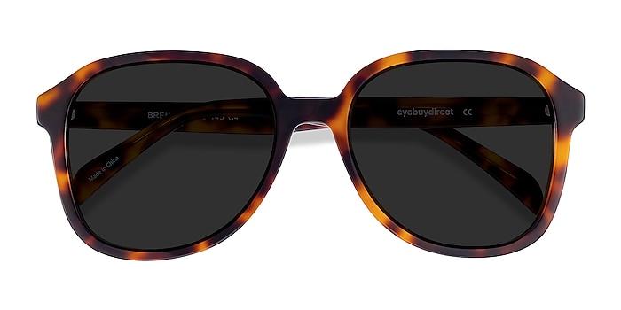 Tortoise Brent -  Vintage Acetate Sunglasses