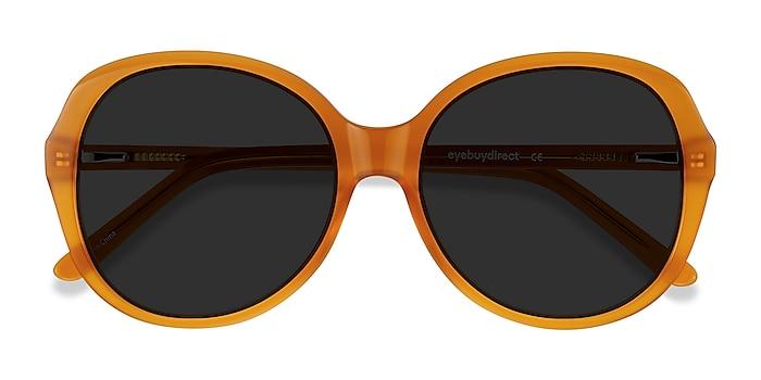 Mustard Sheila -  Vintage Acetate Sunglasses