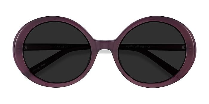 Violet Tina -  Vintage Acétate Lunettes de soleil
